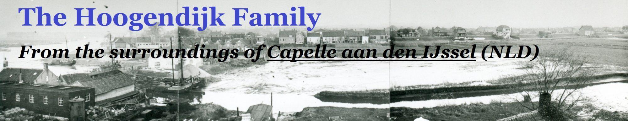 Hoogendijk Family